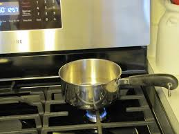 Turn on the Stove and Place the Saucepan on the Stove