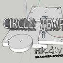 CIRCLE TEMPLATE - Reference Content - for Use in Other Instructables