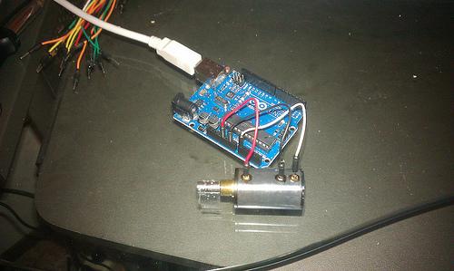Picture of Potentiometer Circuit