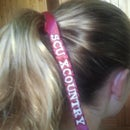 Embroidered Hair Ribbons