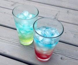 Layered Soft Drinks