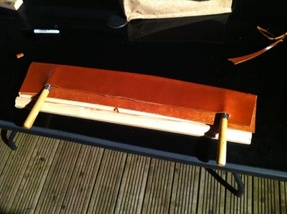 Forming a Leather Sheath