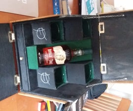 Themed Whiskey Gift Box/Crate