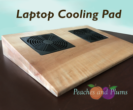 Wooden Laptop Cooling Pad