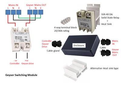 Geyser Switching Module