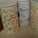 Cute Oat/flour/sugar/ect. Containers