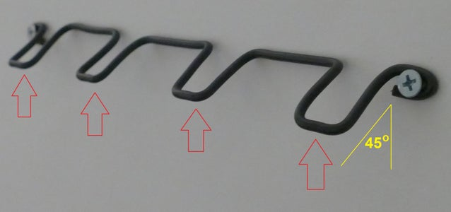 Flex and Adjust the Wire Into Position