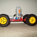 Custom Lego Technic Vehicle