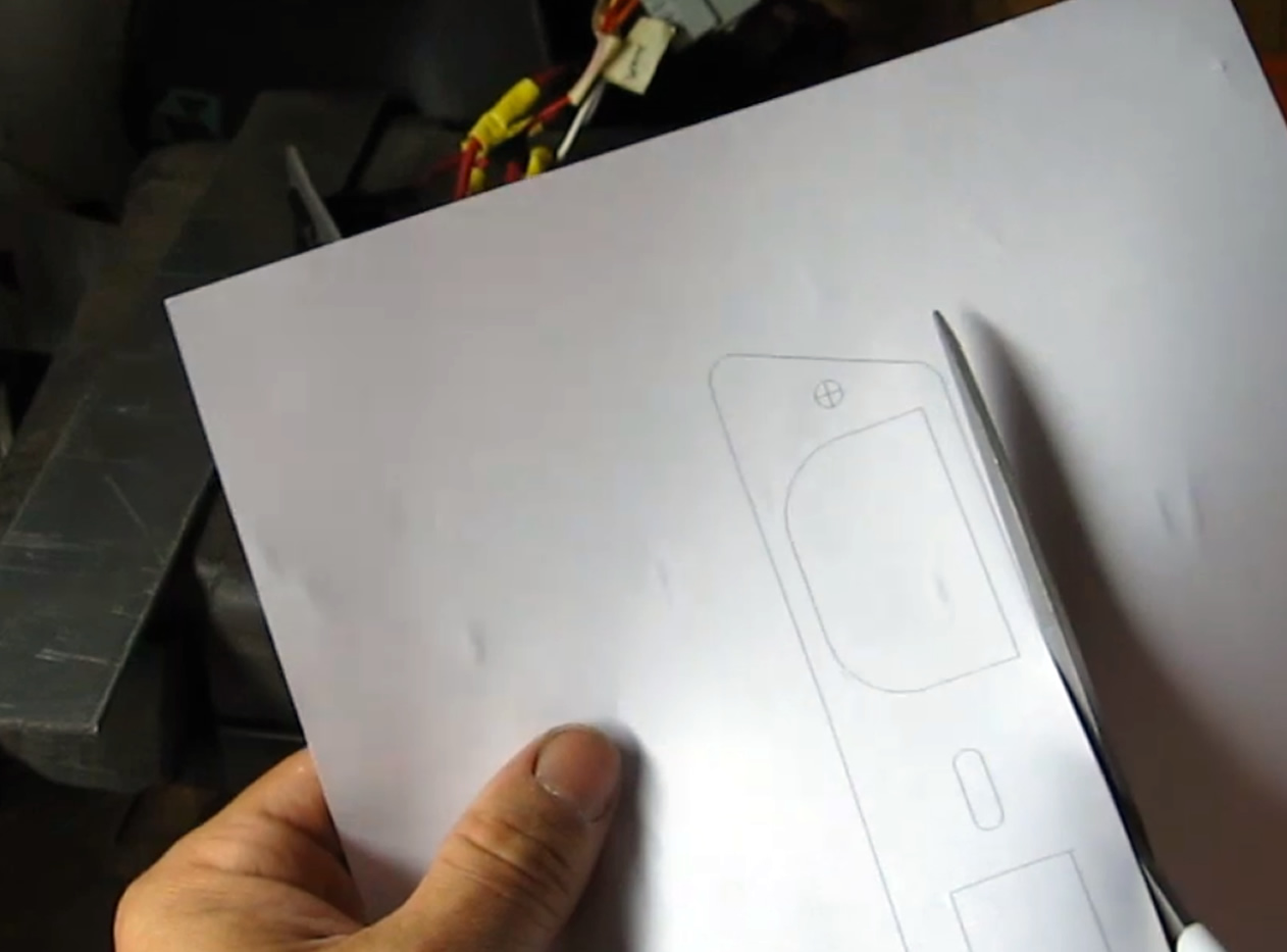 Picture of Transfering the Template