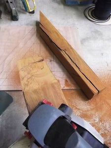 Cutting the Main Sections