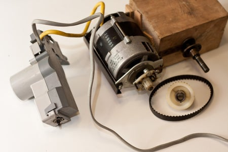 Motor and Pulley