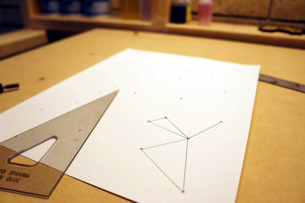 Picture of Delaunay Triangulation