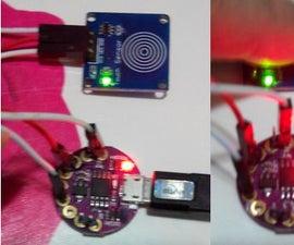 Basic Touching Control Using Sensors