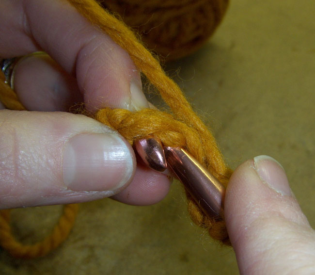Picture of Join With a Slip Stitch to Form a Ring.