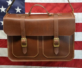 Handcrafted Leather Briefcase