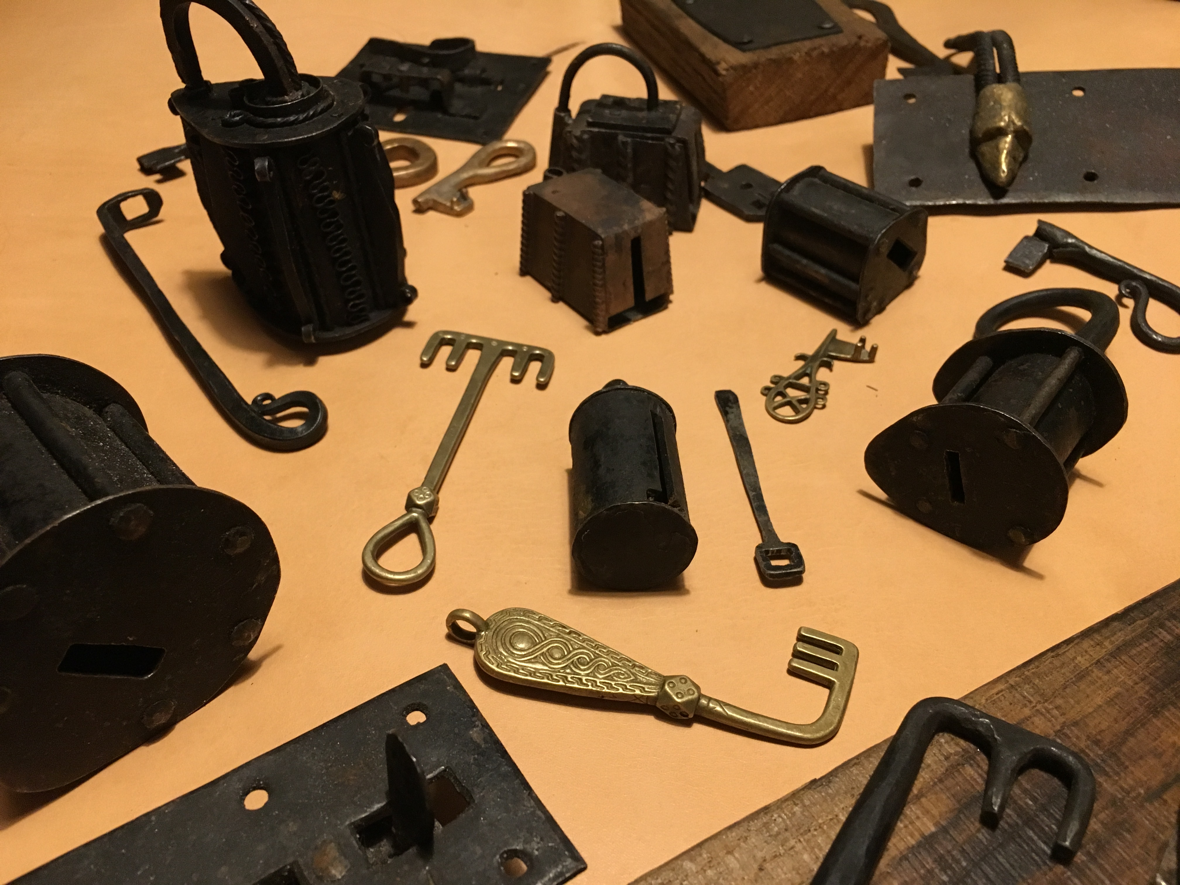 Picture of Final Padlock and Key