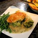 Cooking from Frozen with Aldo Zilli - Broccoli and Stilton Pie