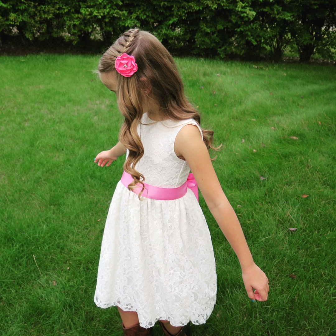 Picture of Easy DIY Flower Girl Dress