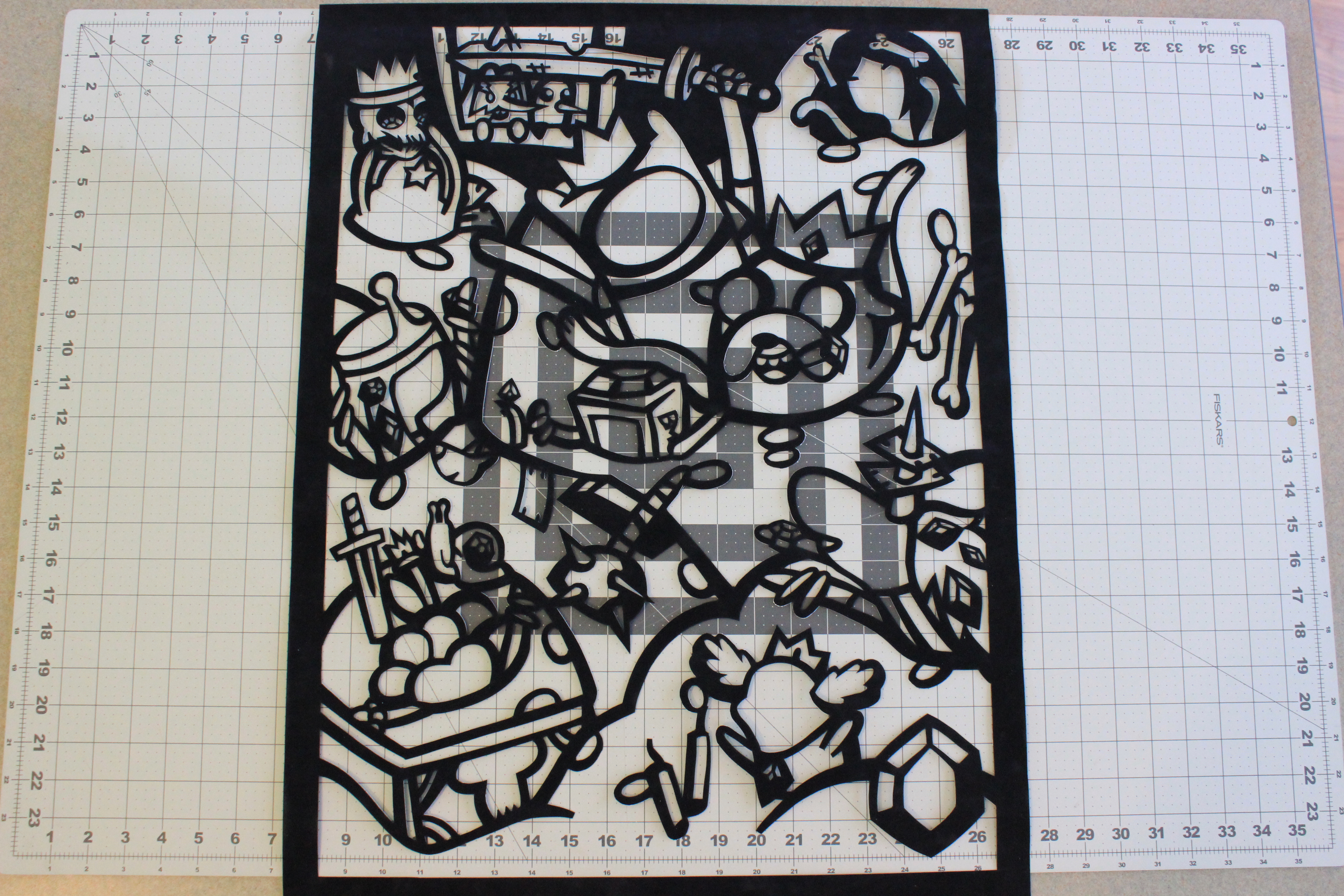 Picture of Cut Out the Design