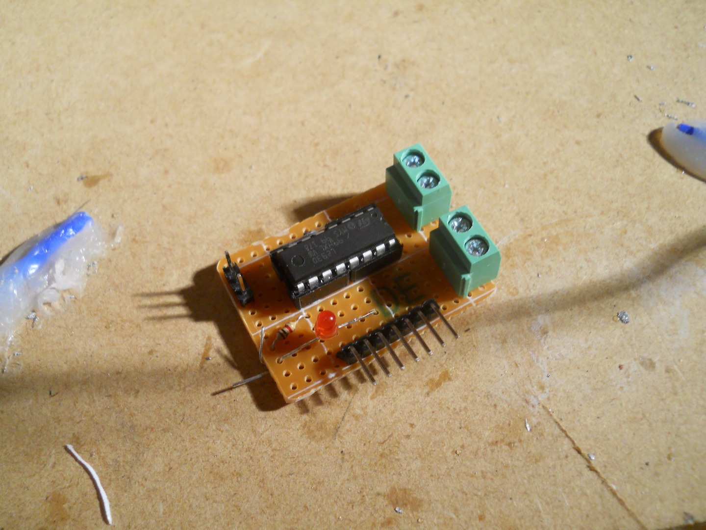 Picture of LinkIt ONE: the $1 Motor Driver