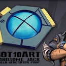 Borderlands Handsome Jack Shield Generator Prop for Cosplay