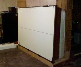 A Murphy Bed Installed Sideways