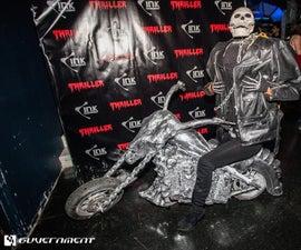 Ghost Rider Making Costume.