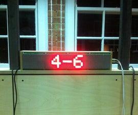 Ping Pong Scoreboard