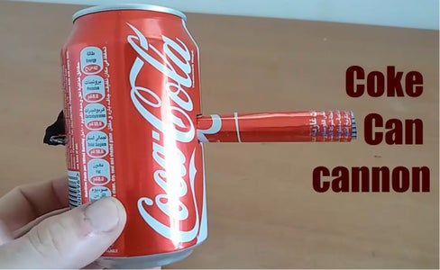 Coke Can Cannon
