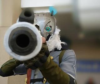 "How to Make Overwatch: ""Snow Owl Ana"" Costume"