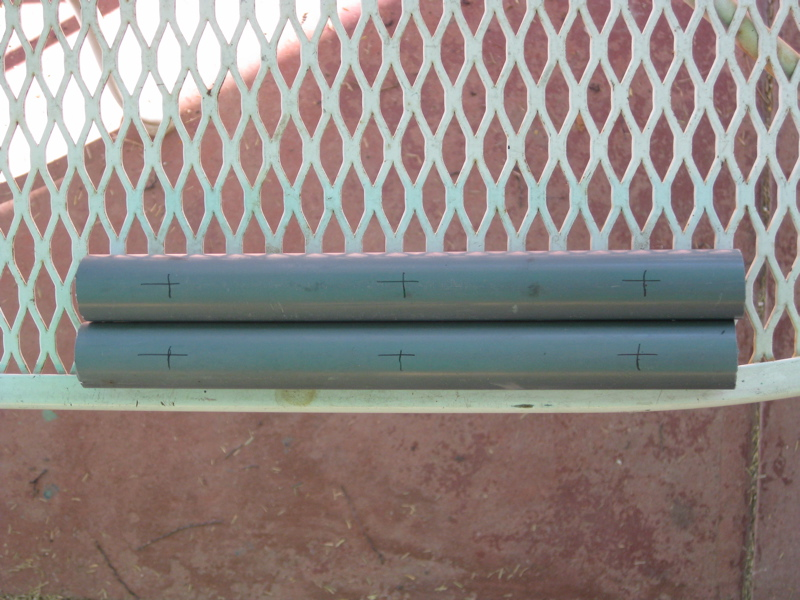 Picture of Cut and Drill the Conduit Pieces