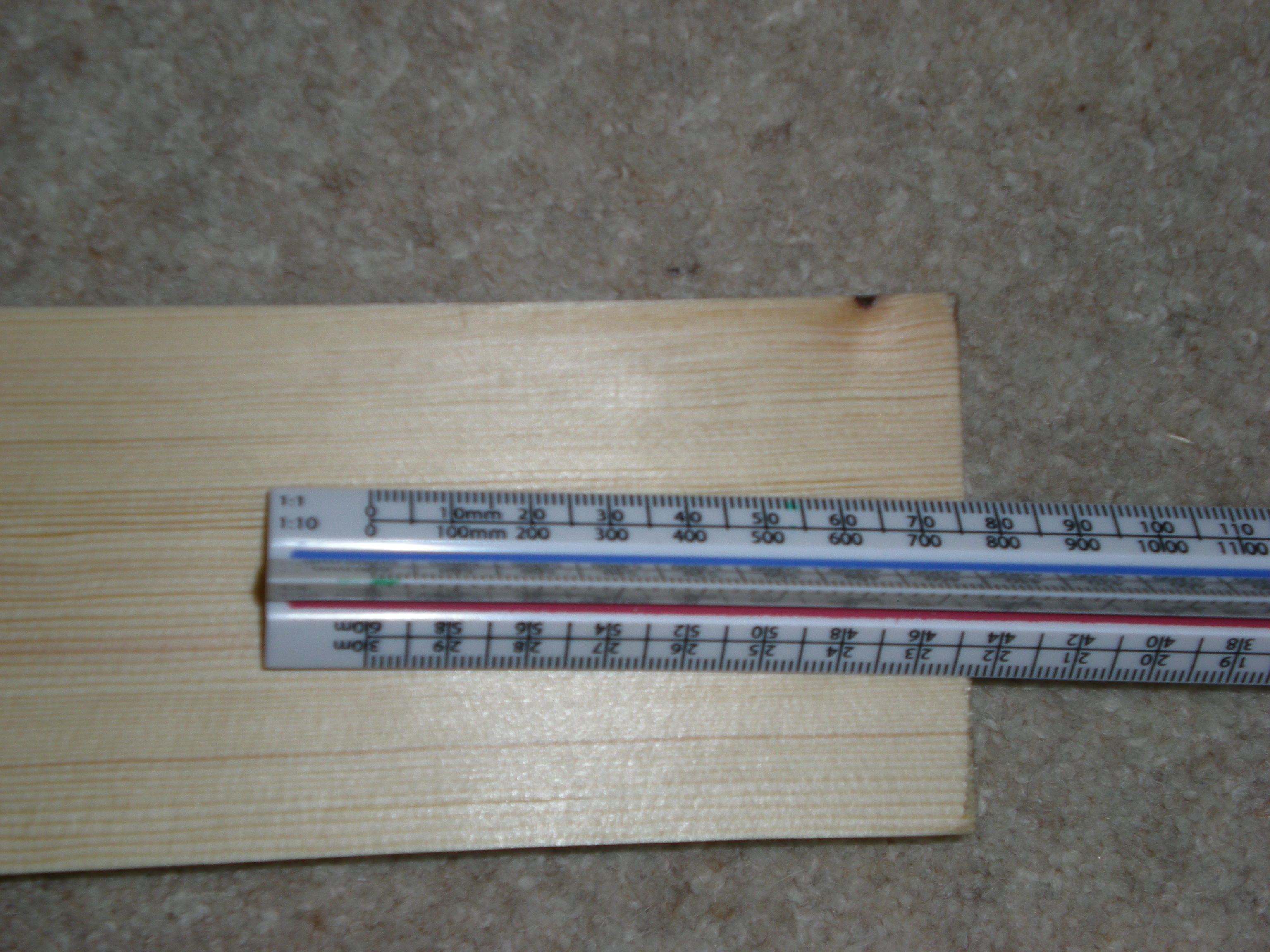Picture of Marking the Smallest Planks (690mm X 70mm)
