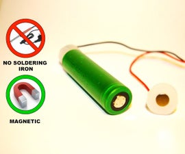 Magnetic connectors for batteries