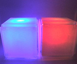 Stackable Ambient RGB LED Cube Lights