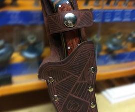 Custom Leather Knife Sheath
