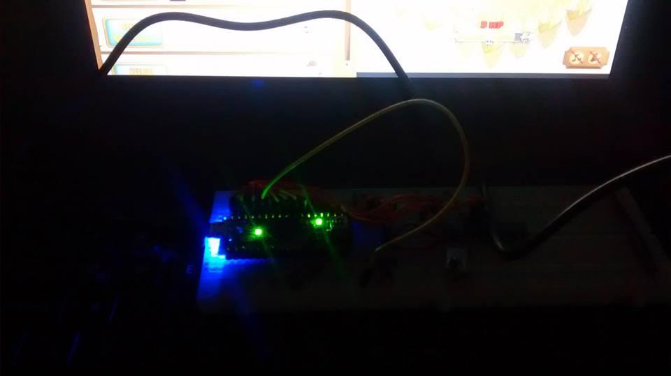 Picture of Hackear Juego Clicker Heroes Con Arduino