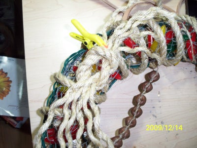 Add a Rope Bow to Your Wreath