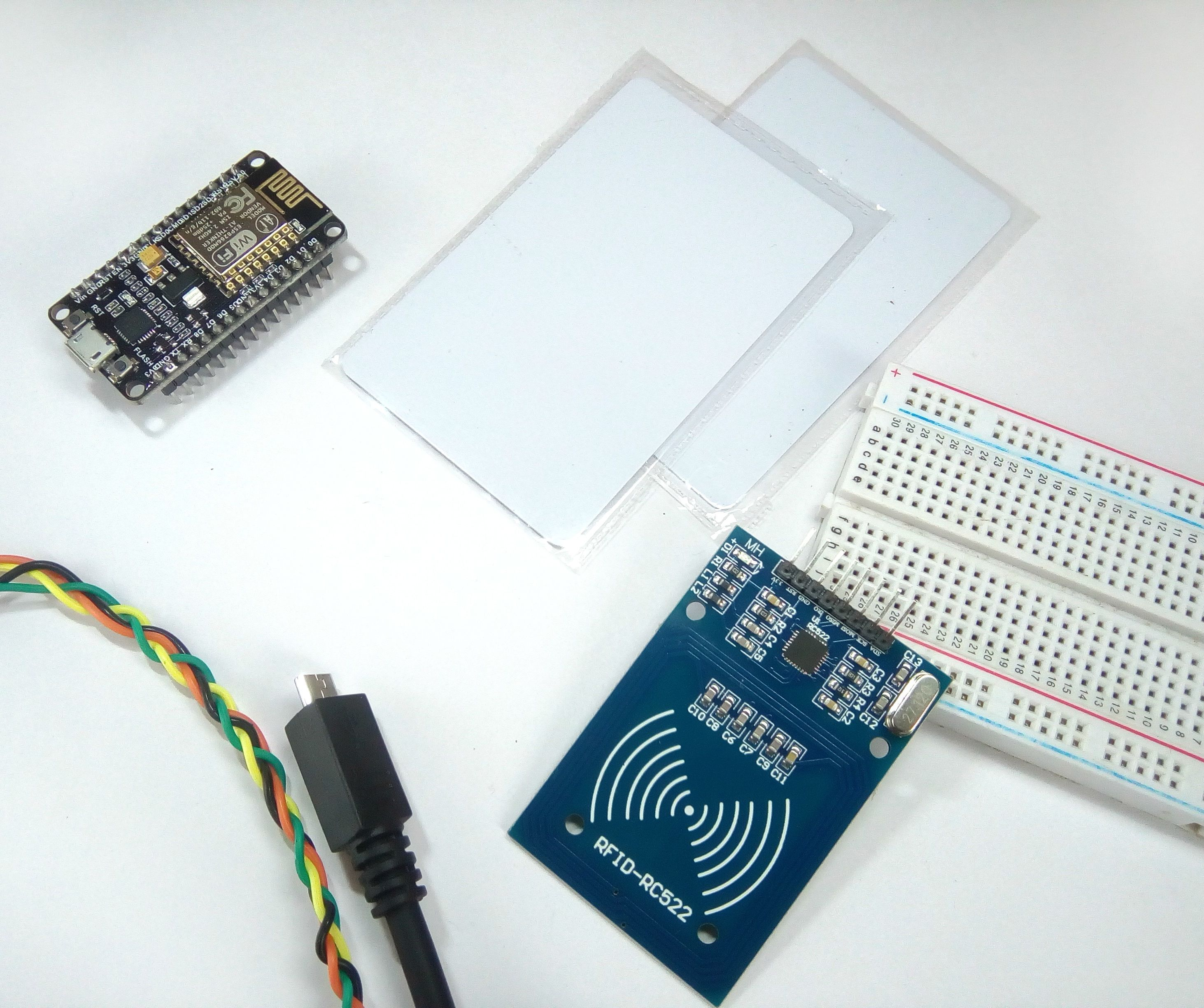 MFRC522 RFID Reader Interfaced With NodeMCU: 6 Steps (with Pictures)