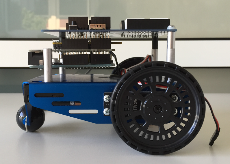 Picture of Parallax BoE-Bot Remote Control Powered by Afero