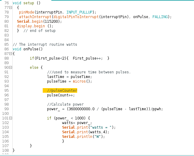 Picture of Arduino IDE Code