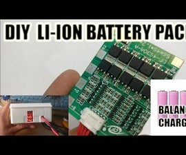 DIY  Battery Pack With BMS