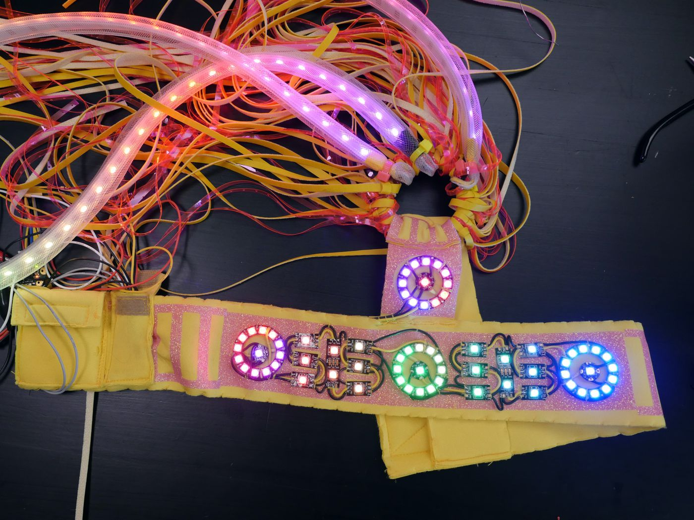Picture of Colorful LED Headpiece