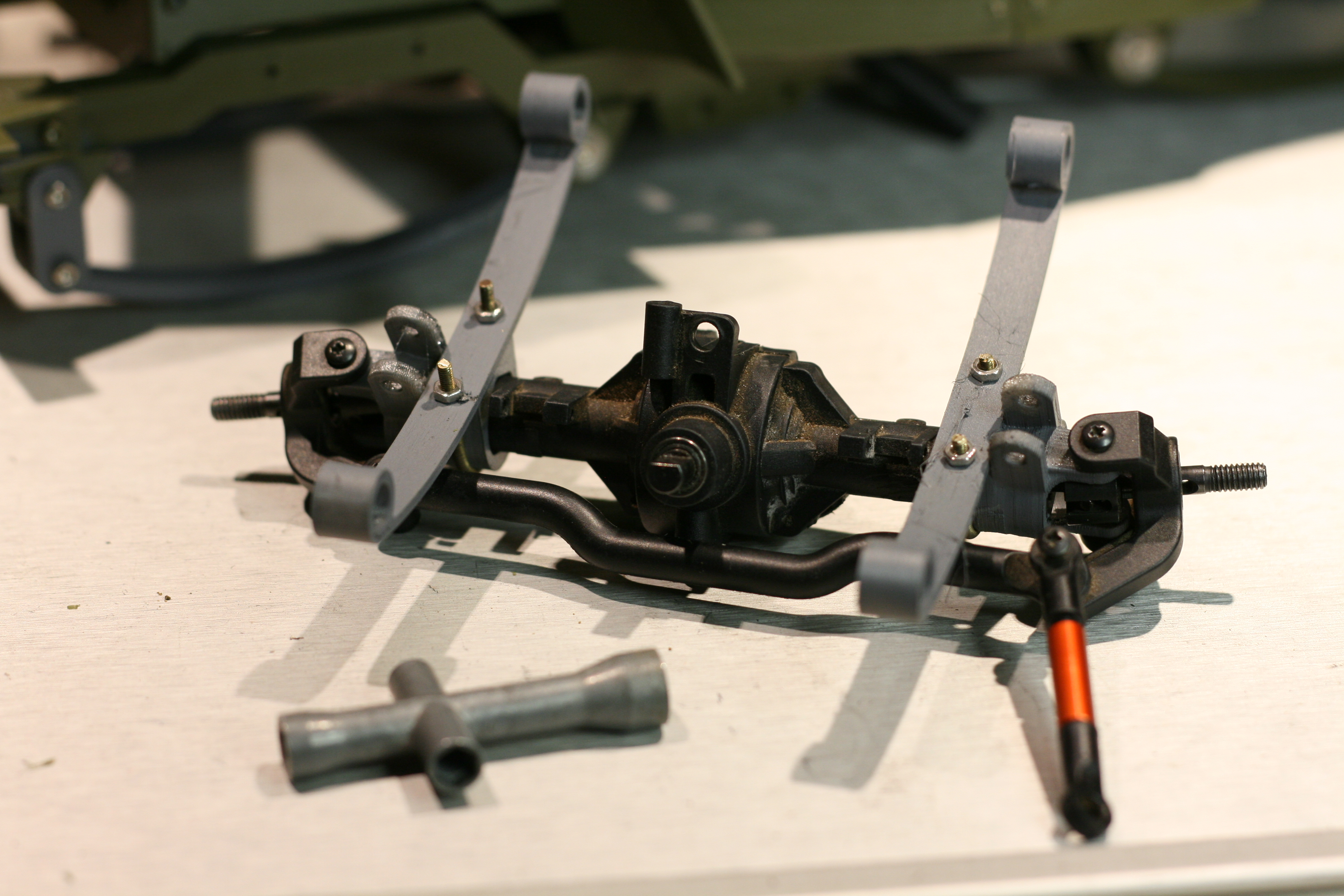 Picture of Assemble Jeep: Leaf Springs and Axles
