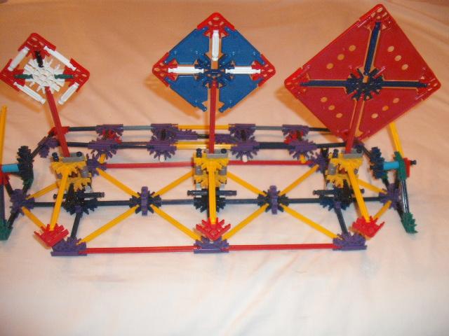 Picture of Knex Fold-up Target Range