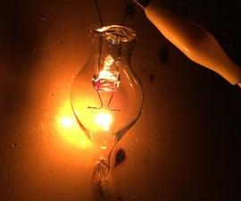 Homemade Incandescent Light Bulb - 自作の白熱電球