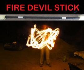 How to Make a Fire Devil Stick