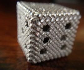 3D printed Turk's head dice