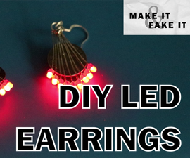 DIY LED Earrings