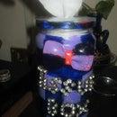 Mason jar tissue box