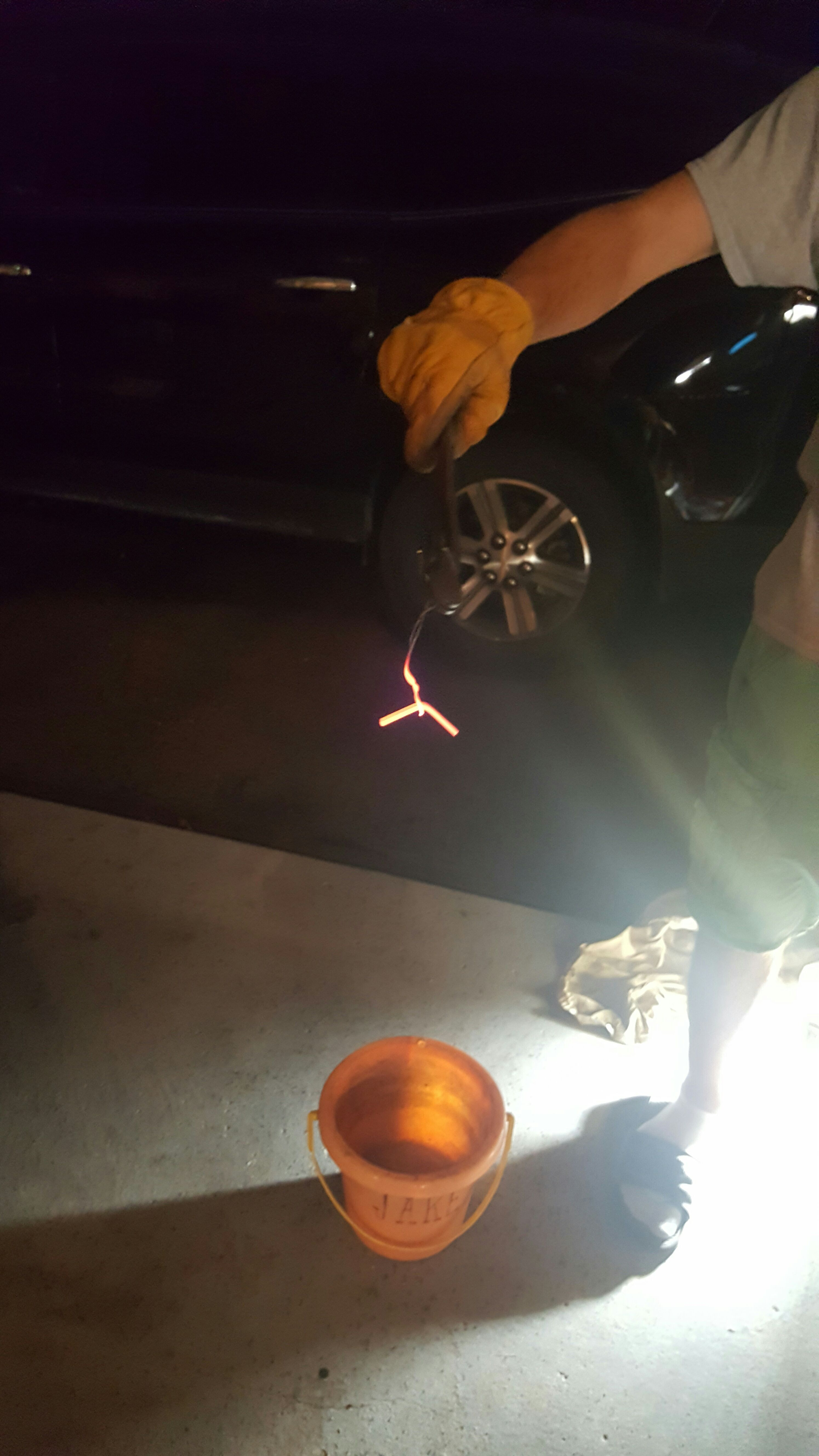 Picture of Annealing (or Softening of the Metal)